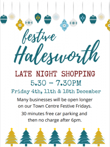 Festive Friday - late night shopping