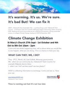 Climate Change Exhibition @ St Mary's Church